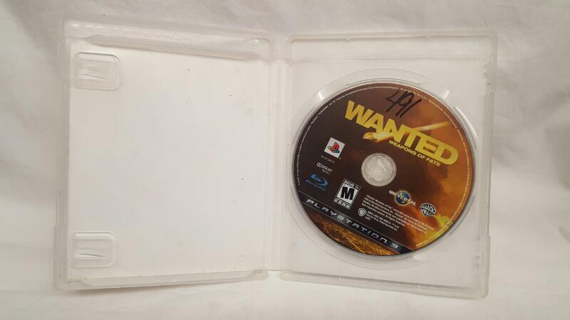 Sony PlayStation 3 Game WANTED WEAPONS OF FATE