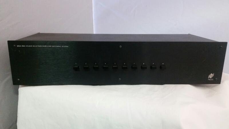 NILES AUDIO Home Theatre Misc. Equipment MSA-10A