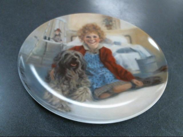 BRADFORD EXCHANGE Collectible Plate/Figurine ANNIE AND SANDY