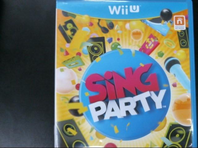 NINTENDO WII U SING PARTY
