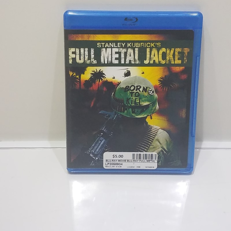 BLU-RAY MOVIE Blu-Ray FULL METAL JACKET