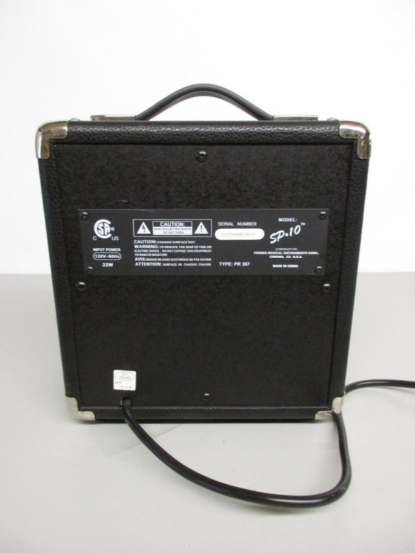 SQUIER SP 10 PRACTICE GUITAR AMPLIFIER