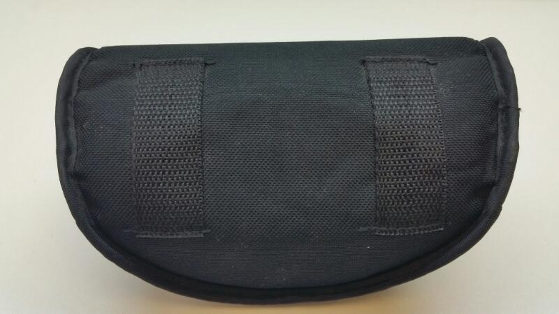 ESS EYEWEAR WITH BELT POUCH AND CLOTH CROSSHAIR]