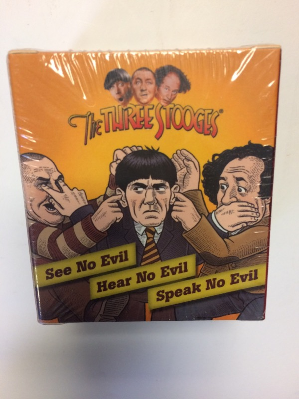 THE THREE STOOGES SEE NO EVIL