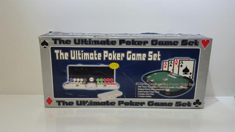 Ecoman The Ultimate Poker Game 500 Chip Set w/ Aluminum Case
