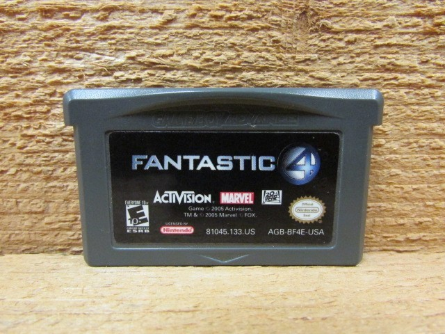 NINTENDO Nintendo GBA Game FANTASTIC 4 GBA
