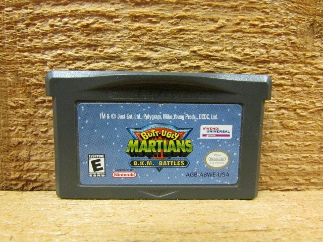 NINTENDO Nintendo GBA Game BUTT UGLY MARTIANS