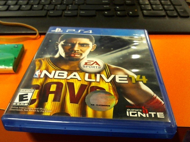 Used-SONY  PlayStation 4 Game NBA LIVE 14