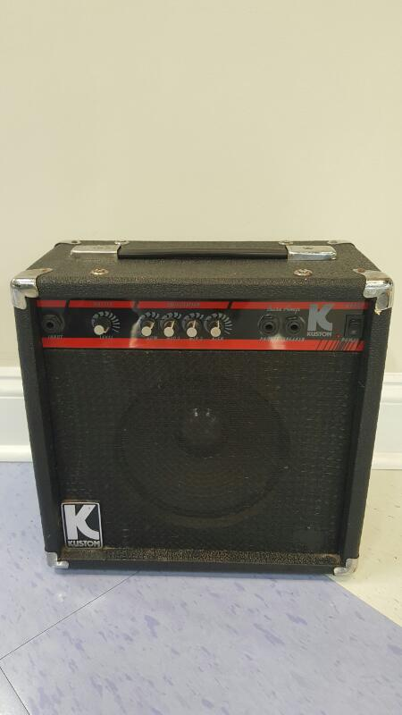 KUSTOM AMPLIFICATION BASS AMP KB: THIS ITEM IS FOR IN-STORE PICKUP ONLY!
