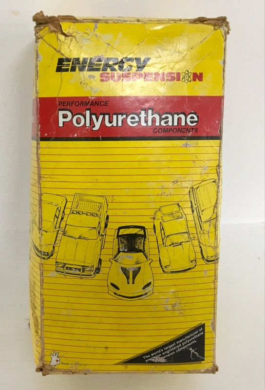 ENERGY SUSPENSION POLYURETHANE COMPONENTS MODEL 3.3132R CONTROL ARM BUSHING KIT
