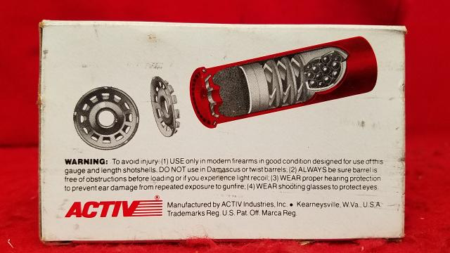 "Activ Sampler 5 Shotgun Shells ""Not for Resale"" - Extremely Rare - Collectible"