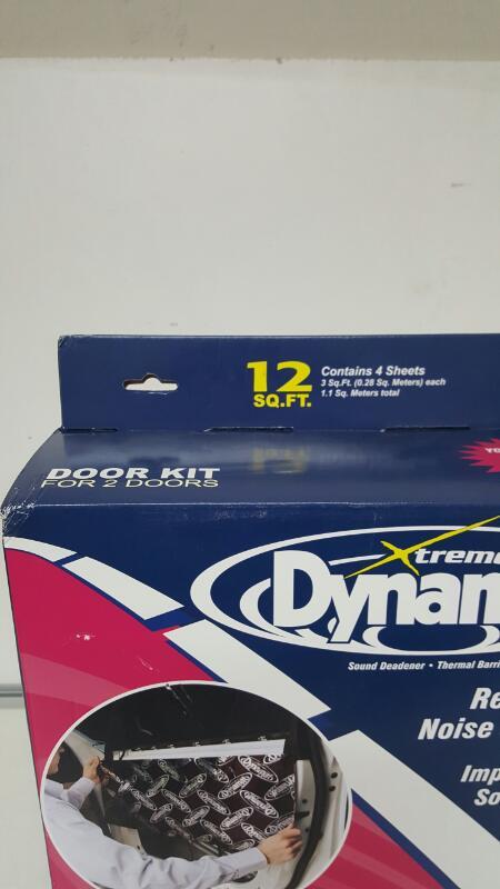 """Dynamat Xtreme 10435 Four 12"""" x 36"""" Pcs Door Kit Sound Dampening Kit"""