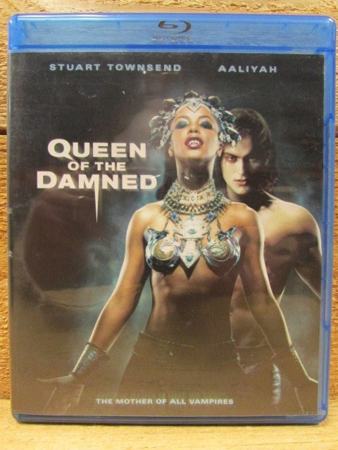 BLU-RAY MOVIE Blu-Ray QUEEN OF THE DAMNED