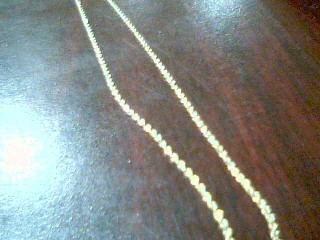 Gold Rope Chain 10K Yellow Gold 2g
