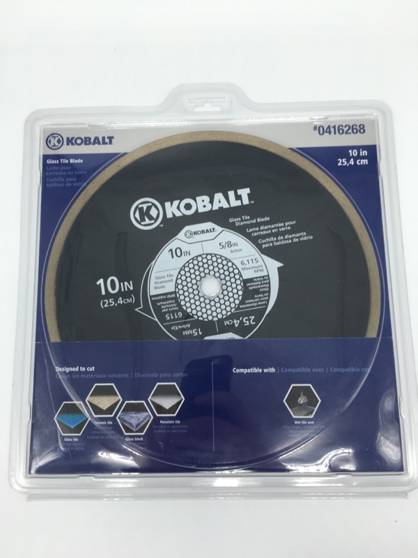 KOBALT TOOLS 10in glass tile Blade 0416268