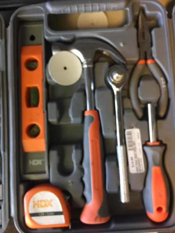 HDX Mixed Tool Box/Set TOOL SET