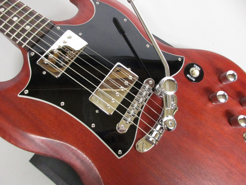 2008 GIBSON SG SPECIAL FADED, WORN CHERRY, UPGRADED