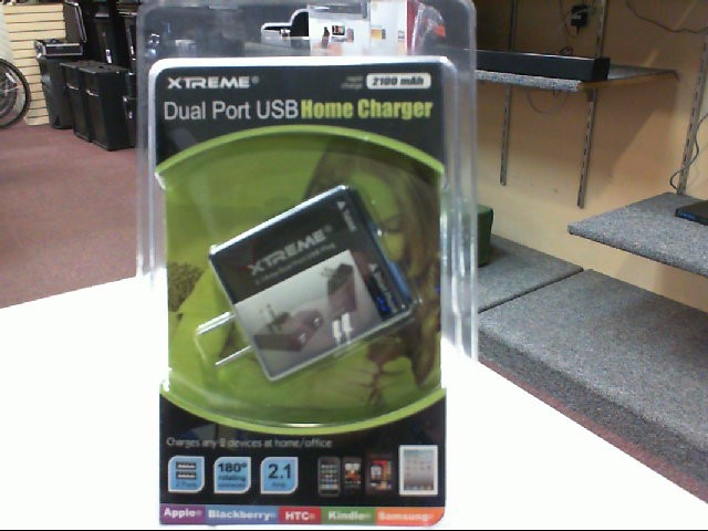 Xtreme 81122 Dual Port USB Home Charger