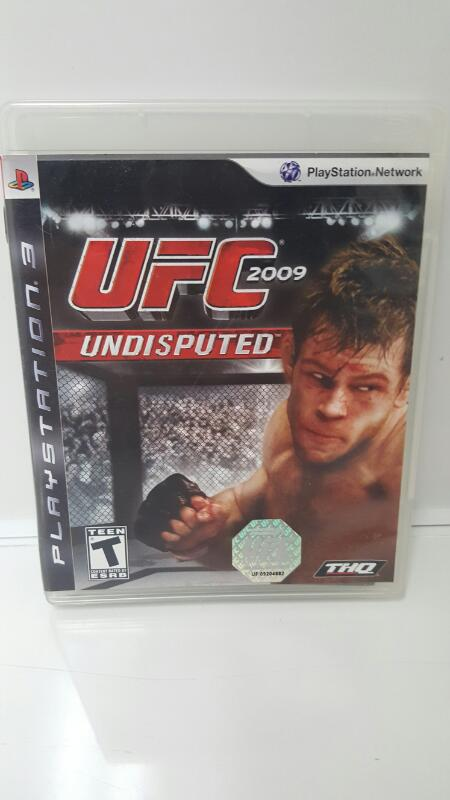 Sony PlayStation 3 Game UFC UNDISPUTED 2009