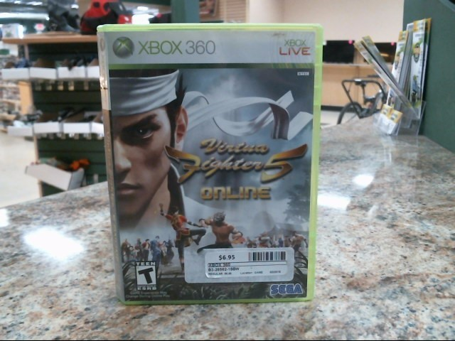 MICROSOFT Microsoft XBOX 360 Game VIRTUA FIGHTER 5: ONLINE
