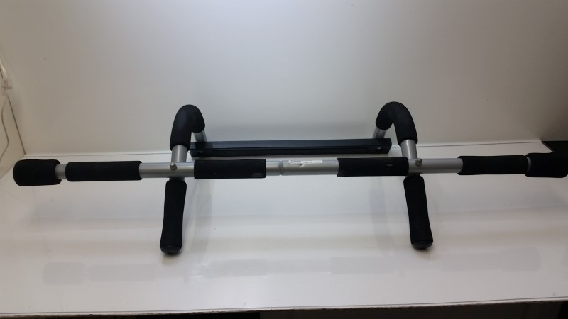 Pro Fit Iron Gym Portable Over the Door Pull Up Bar (NO INSTALL)