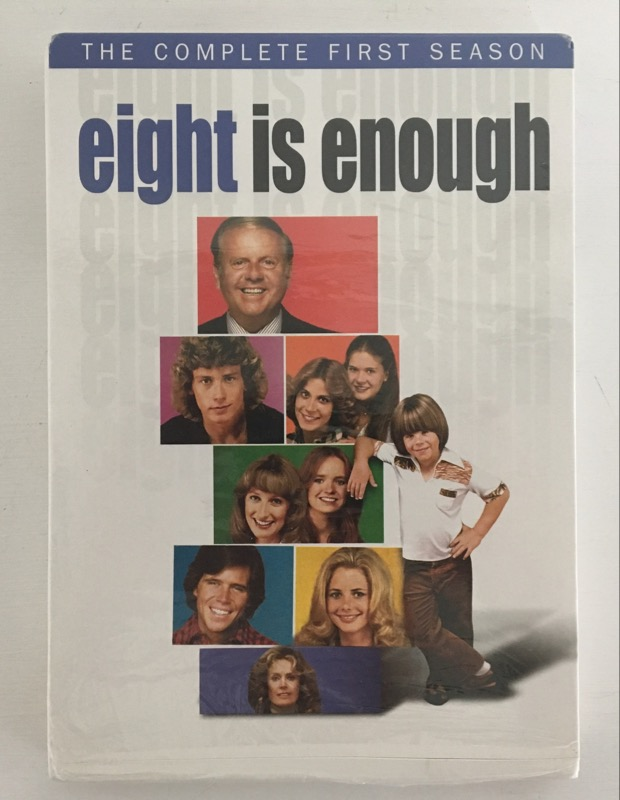 DVD BOX SET EIGHT IS ENOUGH COMPLETE FIRST SEASON
