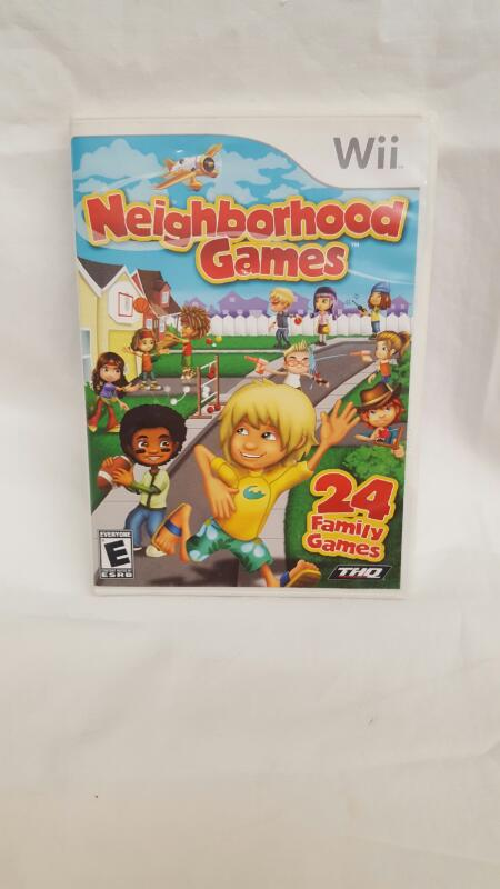 Nintendo Wii Game NEIGHBORHOOD GAMES
