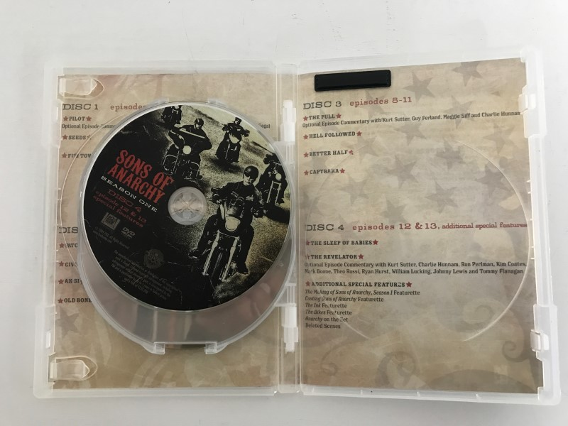 SONS OF ANARCHY DVD SEASON ONE