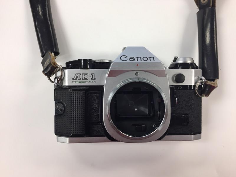 CANON Film Camera AE-1 Program SLR NO Lens