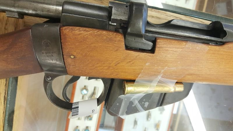 DEFECTIVE FIREARM ENFIELD ARMS SMLE, #7950, .303 BRITISH, BOLT; ENGLAND STAMPED