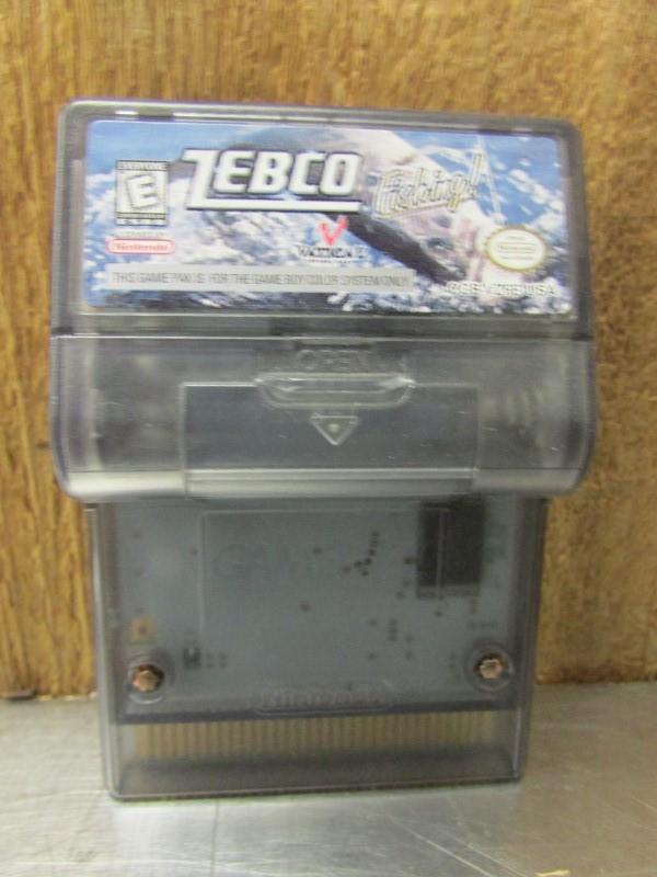 NINTENDO Vintage Game ZEBCO FISHING