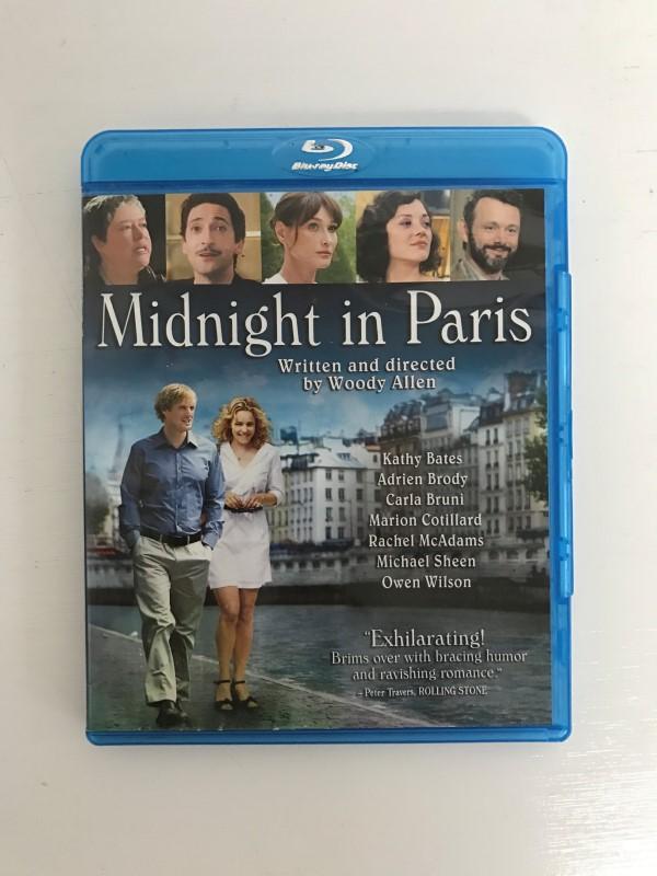 BLU-RAY MIDNIGHT IN PARIS