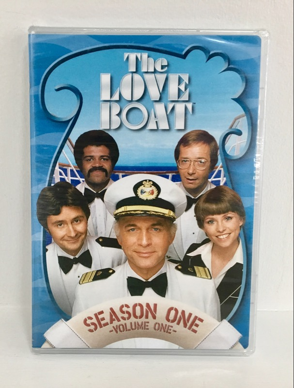DVD BOX SET THE LOVE BOAT SEASON ONE VOLUME ONE