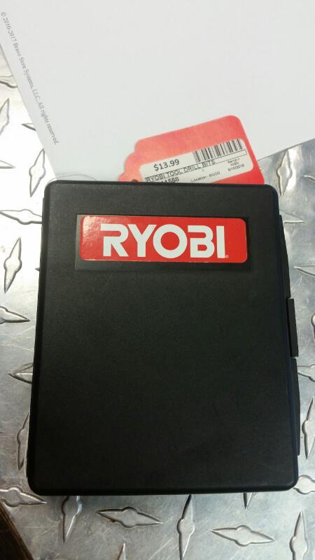 RYOBI TOOLS Drill Bits/Blades DRILL BITS