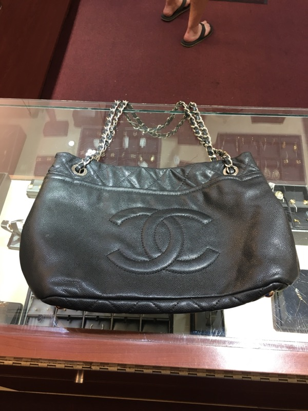 CHANEL Handbag BLACK TOTE