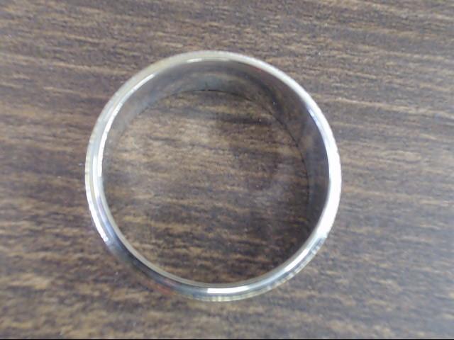 ESTATE ORANGE BLOSSOM MENS DESIGN 7mm WED RING BAND 14K GOLD SZ 8.25