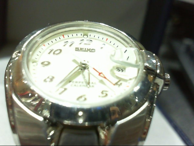 SEIKO Lady's Wristwatch Perpetual Calender 4F32-0039