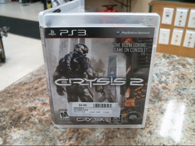 SONY Sony PlayStation 3 Game CRYSIS 2