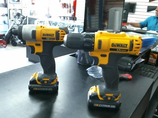 DEWALT Cordless Drill DCF815 DCD710 COMBO SET