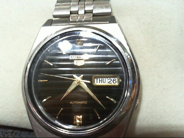 SEIKO Gent's Stainless Steel Automatic Wristwatch 7S26-8760