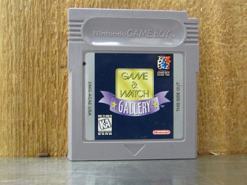 NINTENDO Vintage Game GAME&WATCH GALLERY GAMEBOY