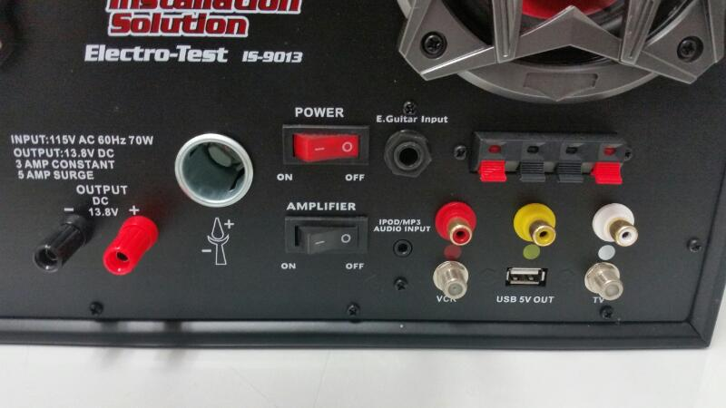 Pipeman's Installation Solution ElectroTest IS9013 Countertop Electronics Tester