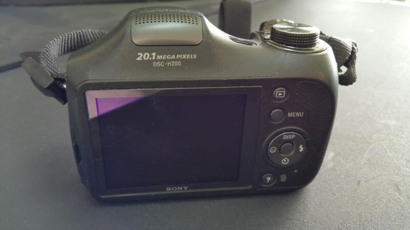 SONY Digital Camera CYBERSHOT DSC-H200