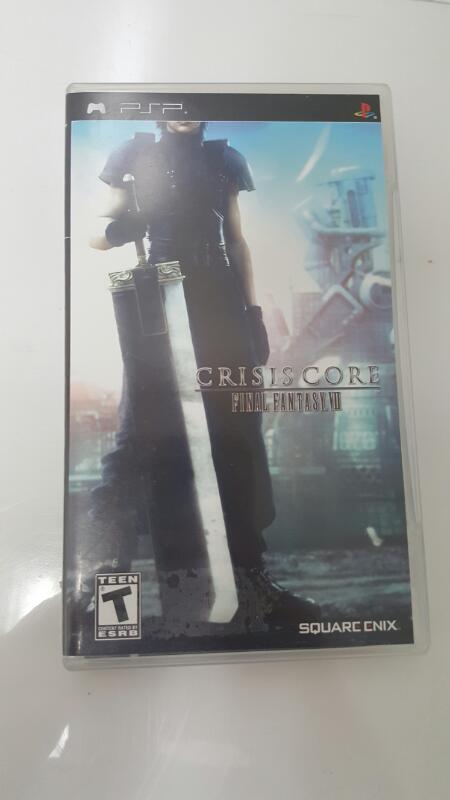 Final Fantasy VII Crisis Core (Sony PSP Game)