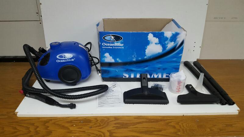 Ocean Blue Canister Steamer VG0020