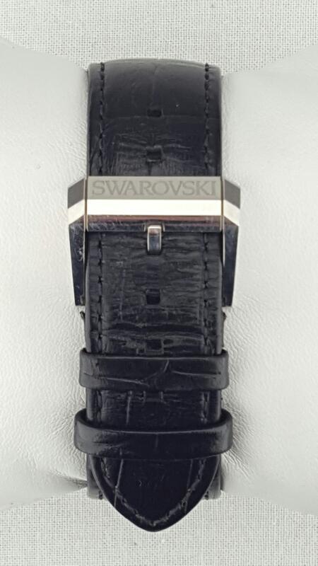 SWAROVSKI Piazza Grande Gent's Watch Stainless Steel/Leather Date 1094350