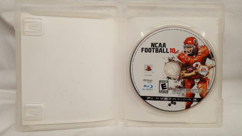 Sony PlayStation 3 Game NCAA FOOTBALL 10