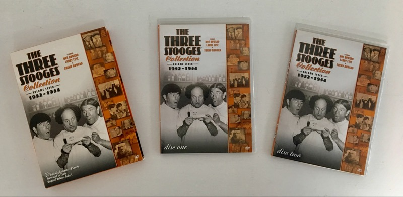 DVD MOVIE THE THREE STOOGES COLLECTION VOL. 7