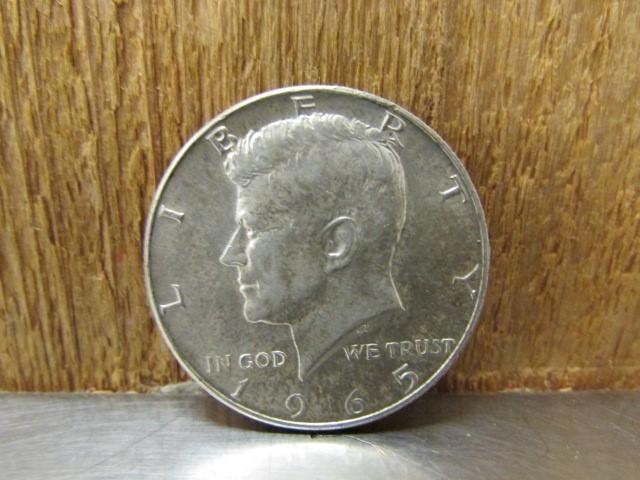 UNITED STATES Silver Coin 1965 KENNEDY HALF DOLLAR