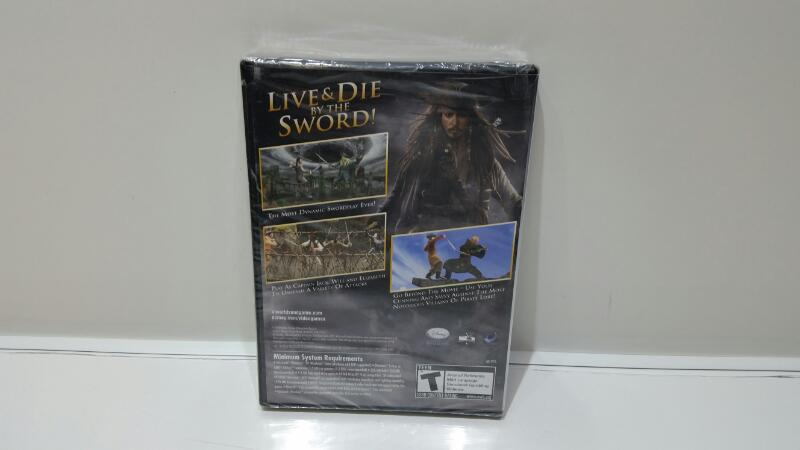 DISNEY PC Game PIRATES OF THE CARIBBEAN PC GAME